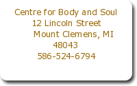 Centre For Body And Soul